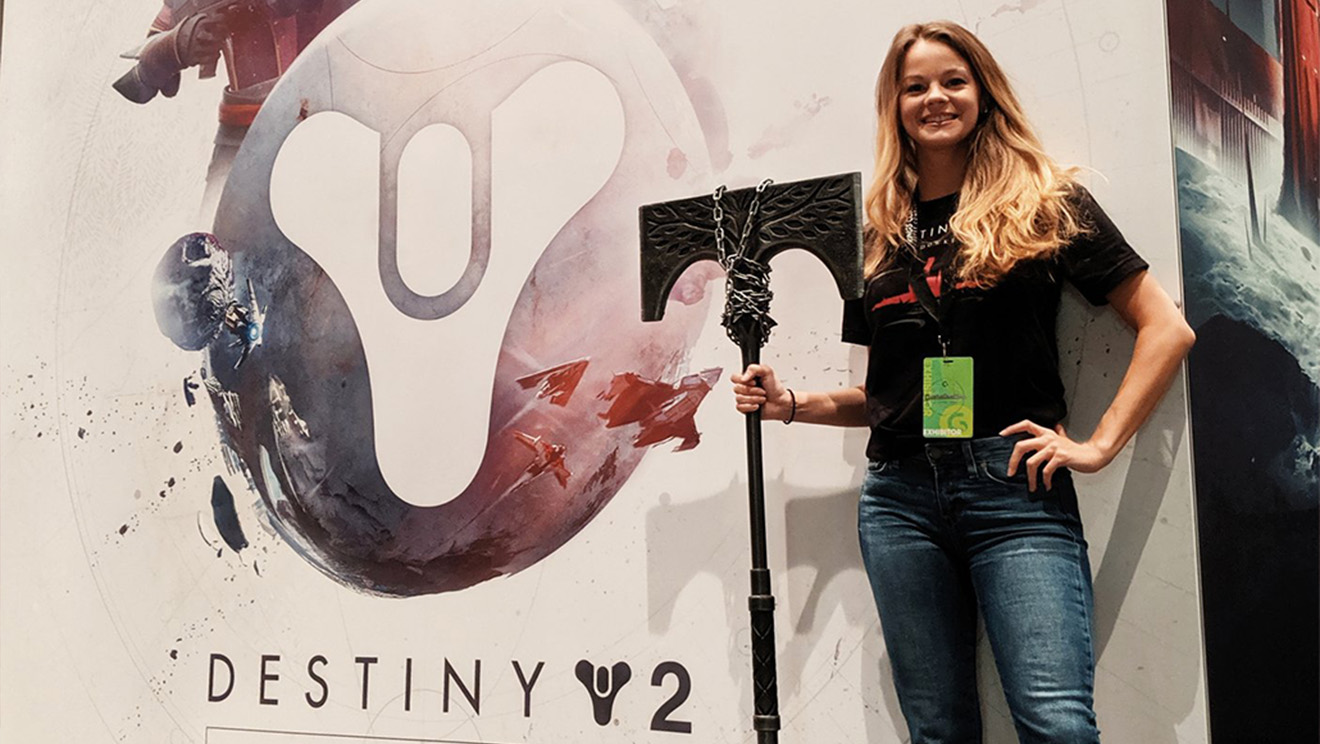 """Bonnie Burton, """"Xena"""" Gets Candid About Girls in Gaming and Bungie"""